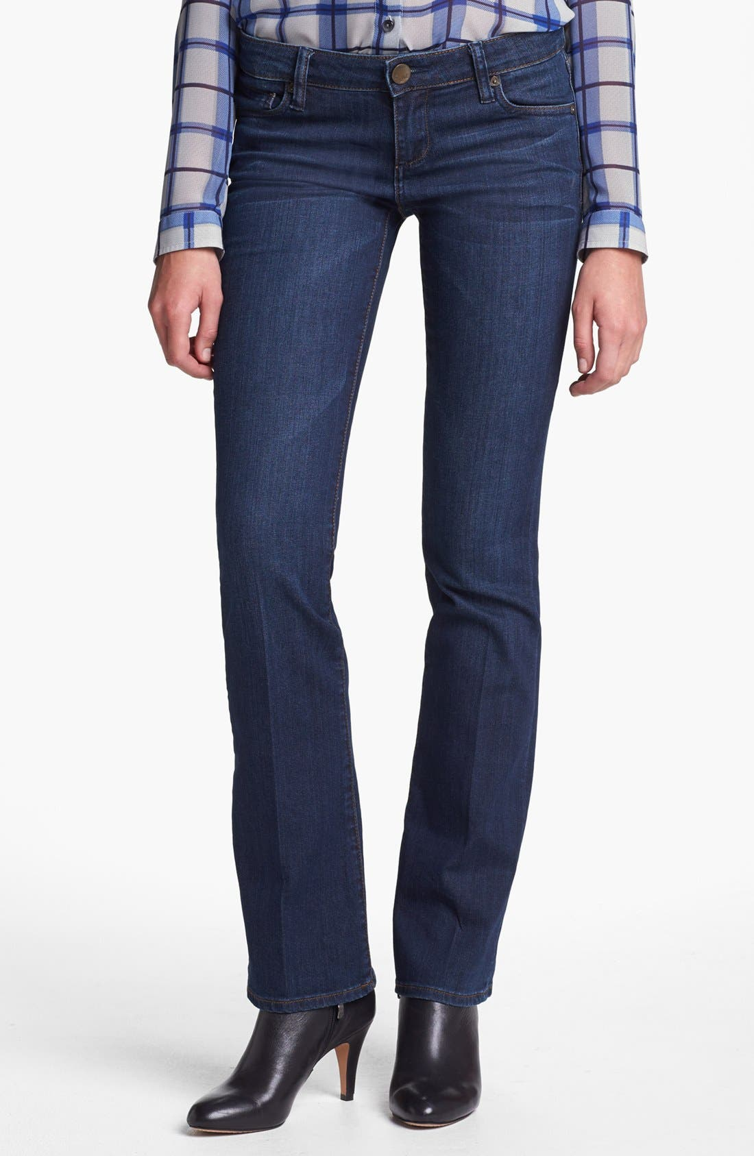 Alternate Image 1 Selected - KUT from the Kloth 'Farrah' Mini Bootcut Jeans (Whim) (Regular & Petite)