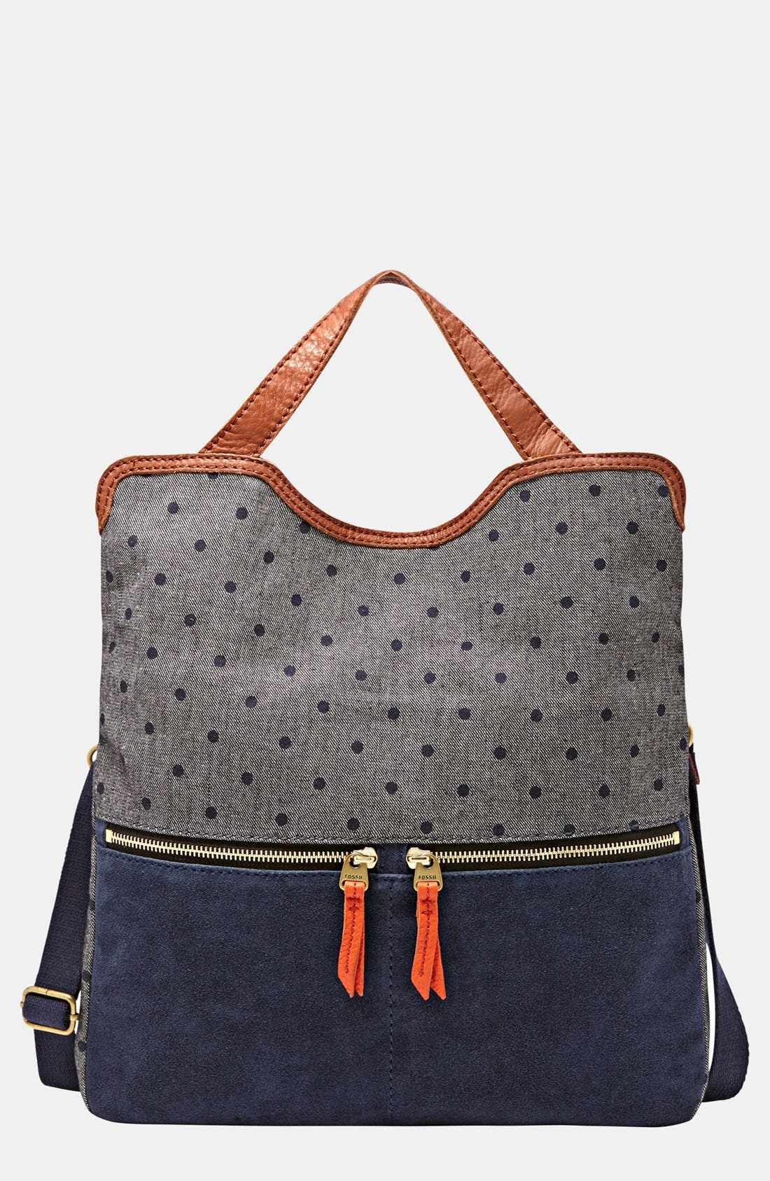 Alternate Image 1 Selected - Fossil 'Erin' Foldover Tote