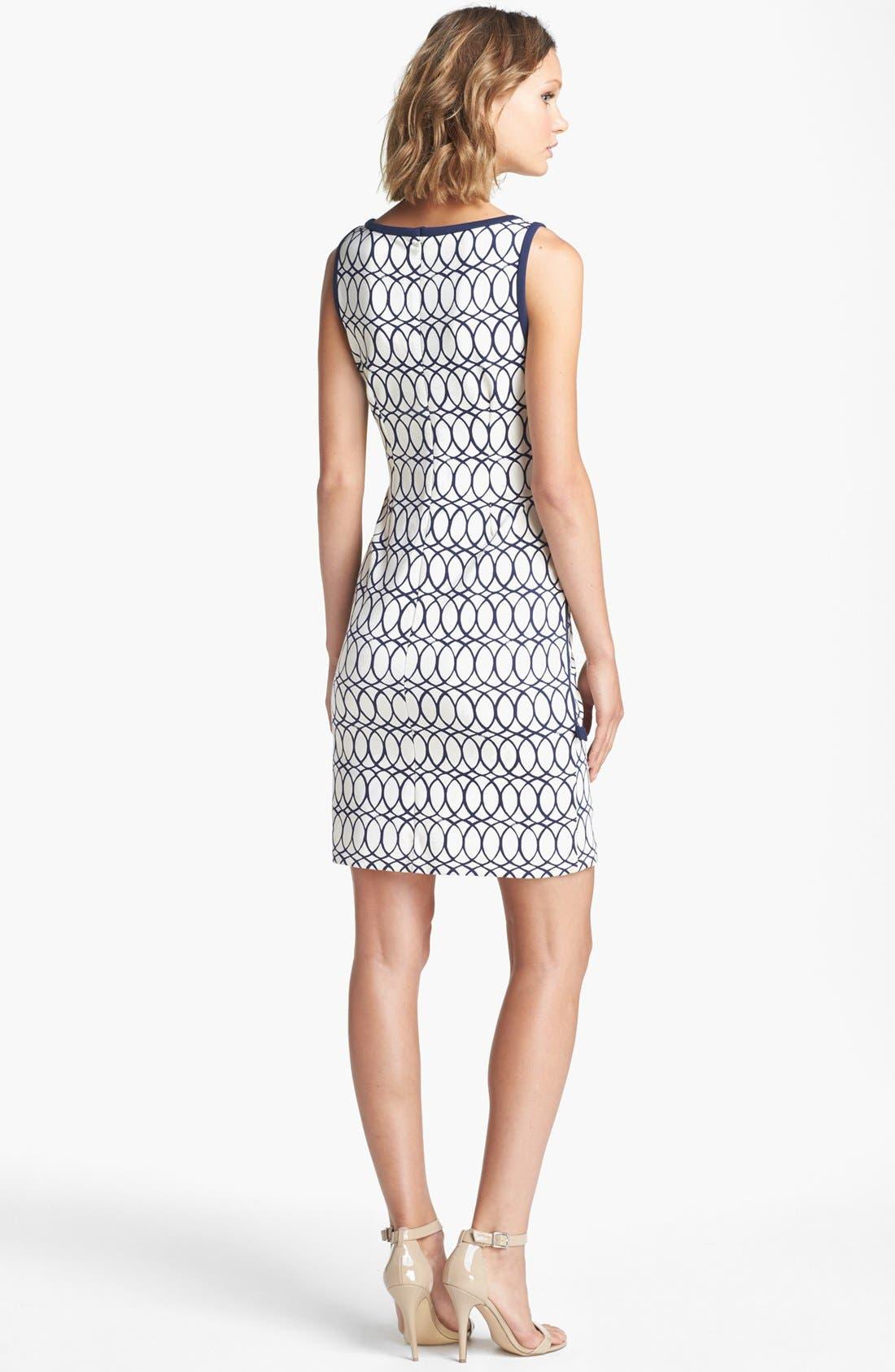 Alternate Image 2  - Lilly Pulitzer® 'Francesca' Print Sheath Dress