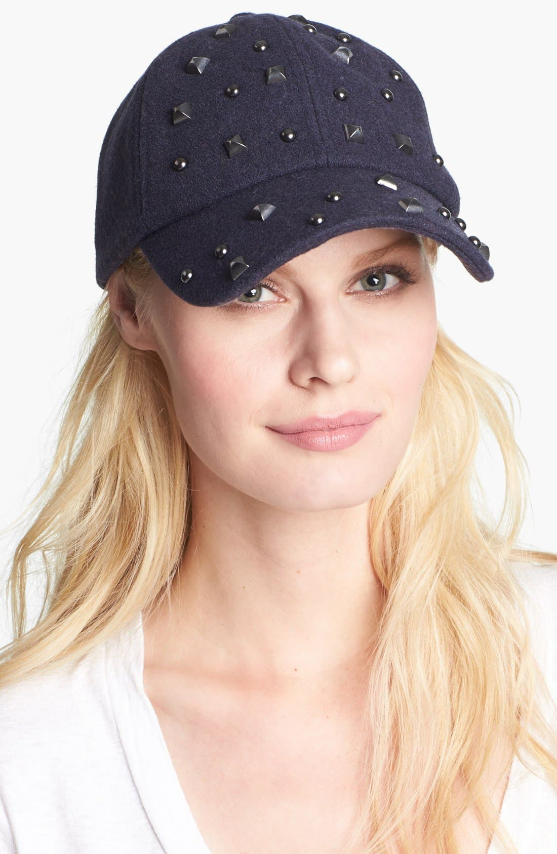Alternate Image 1 Selected - San Diego Hat Studded Wool Blend Cap