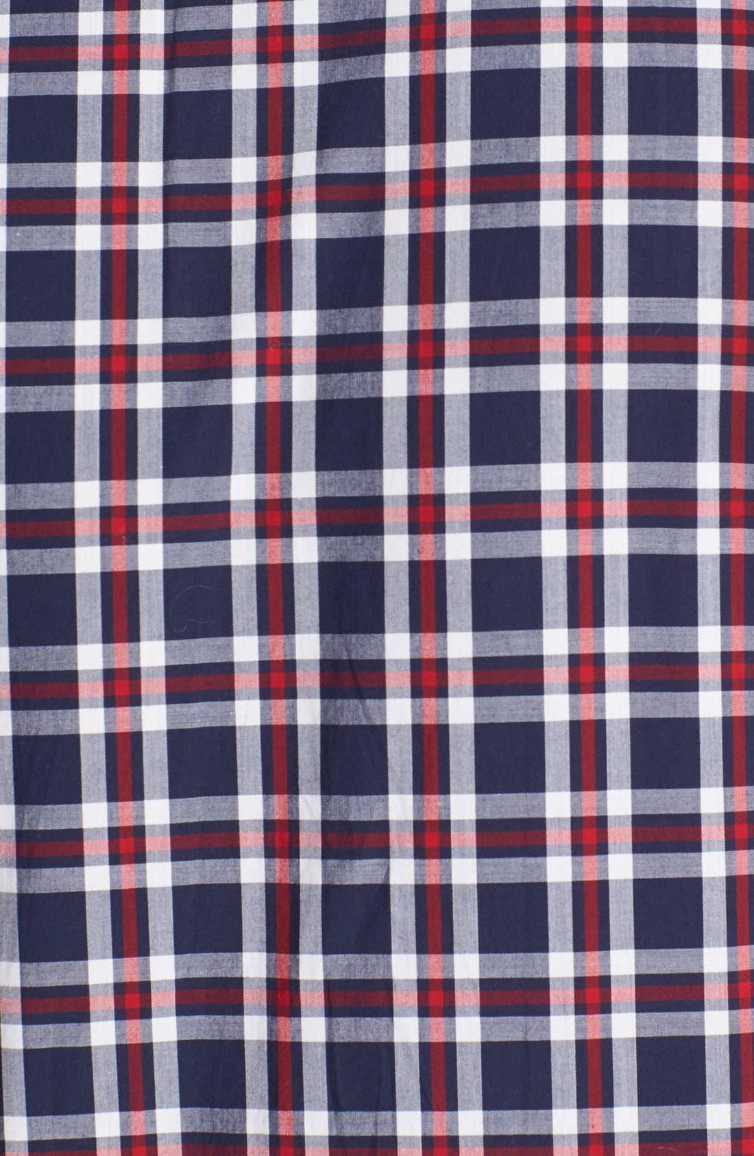 Alternate Image 2  - Lacoste Slim Fit Plaid Shirt