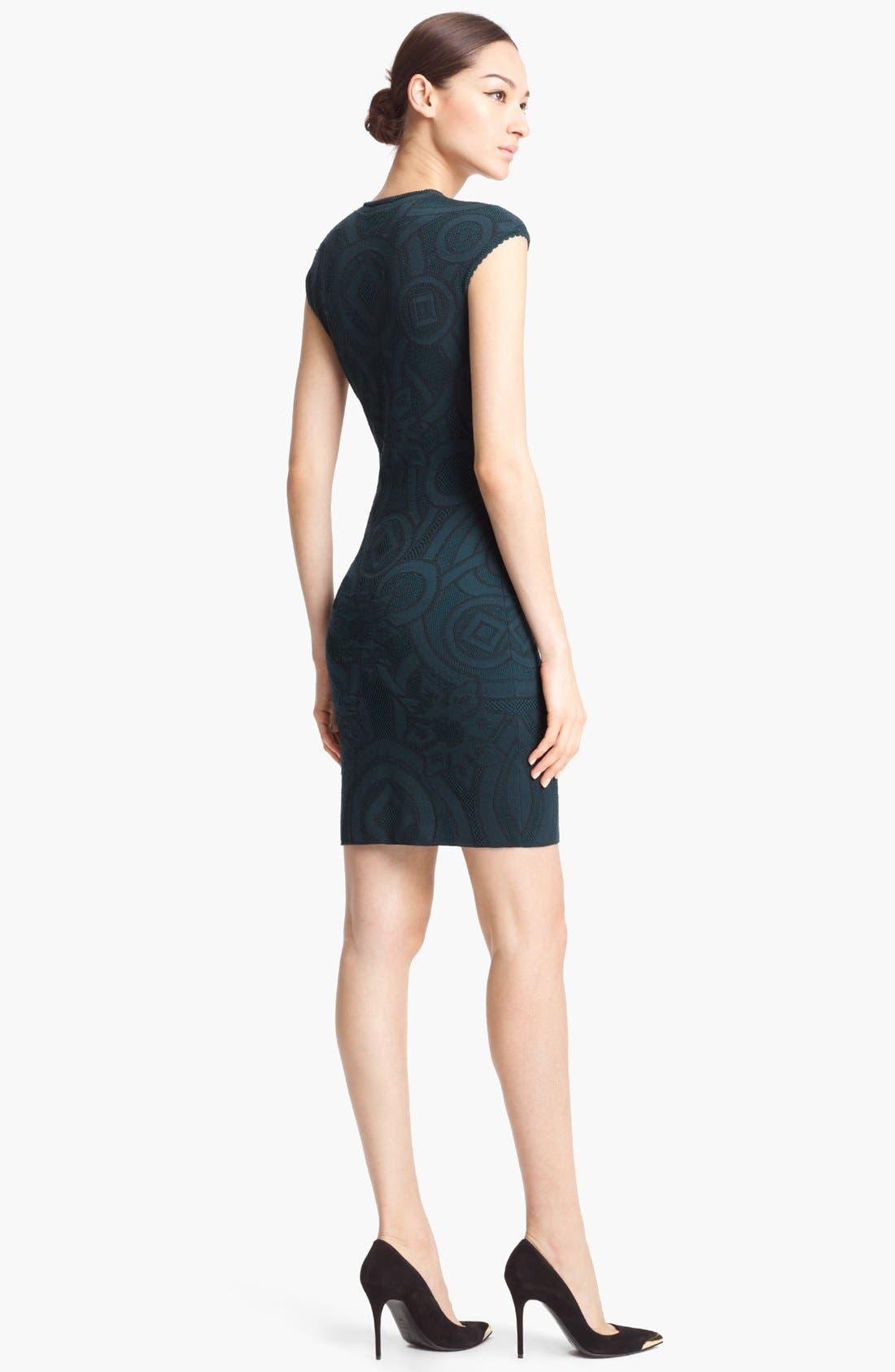 Alternate Image 2  - Alexander McQueen Jacquard Dress