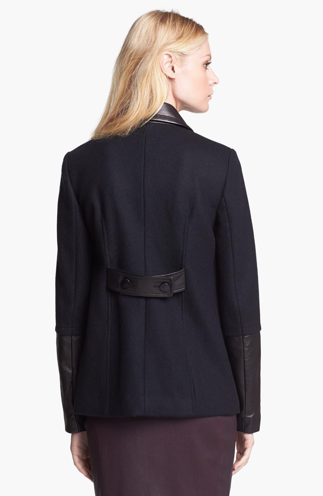 Alternate Image 2  - Diane von Furstenberg 'Eva Melton' Coat