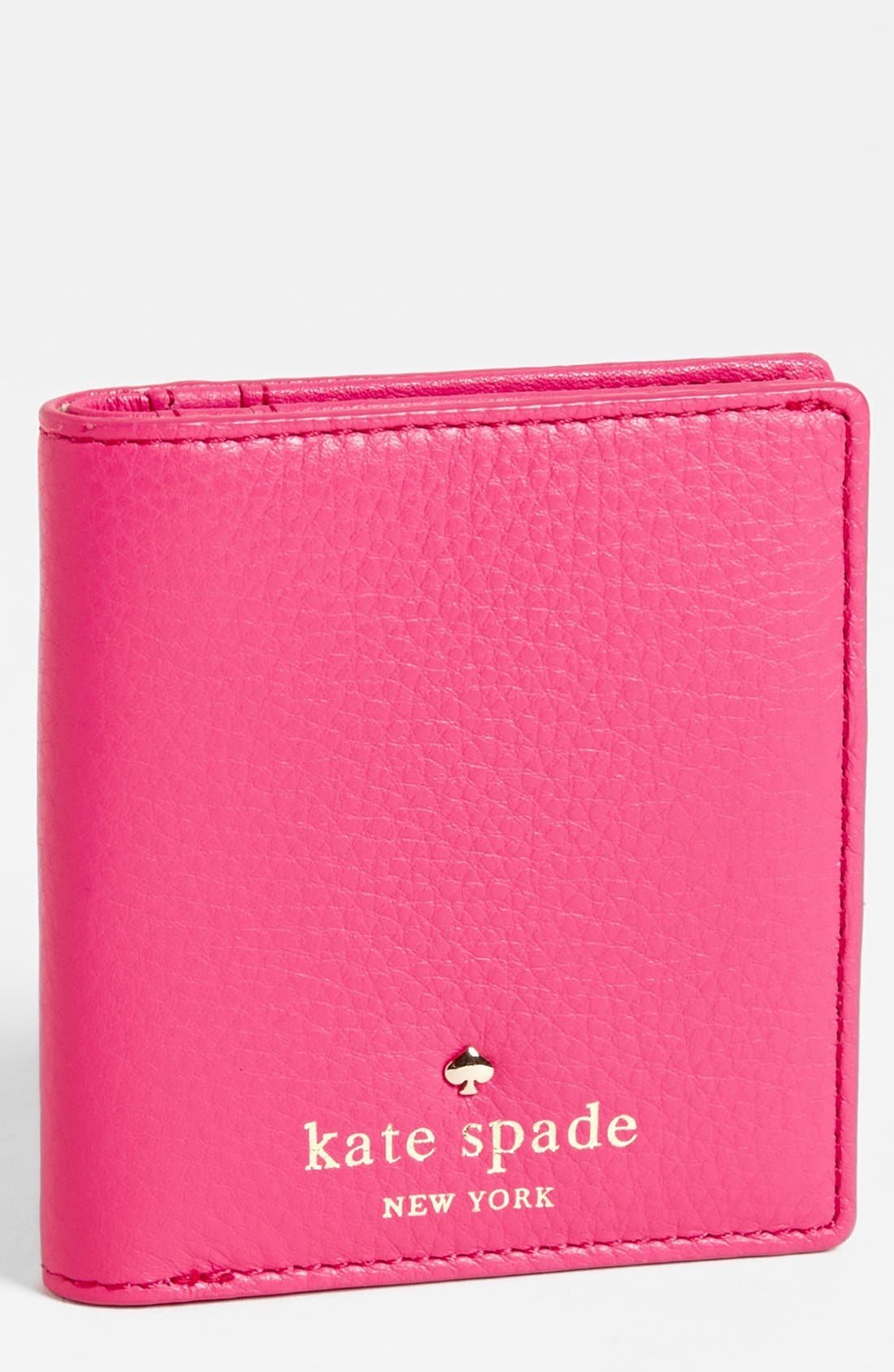 Main Image - kate spade new york 'cobble hill - small stacy' leather wallet