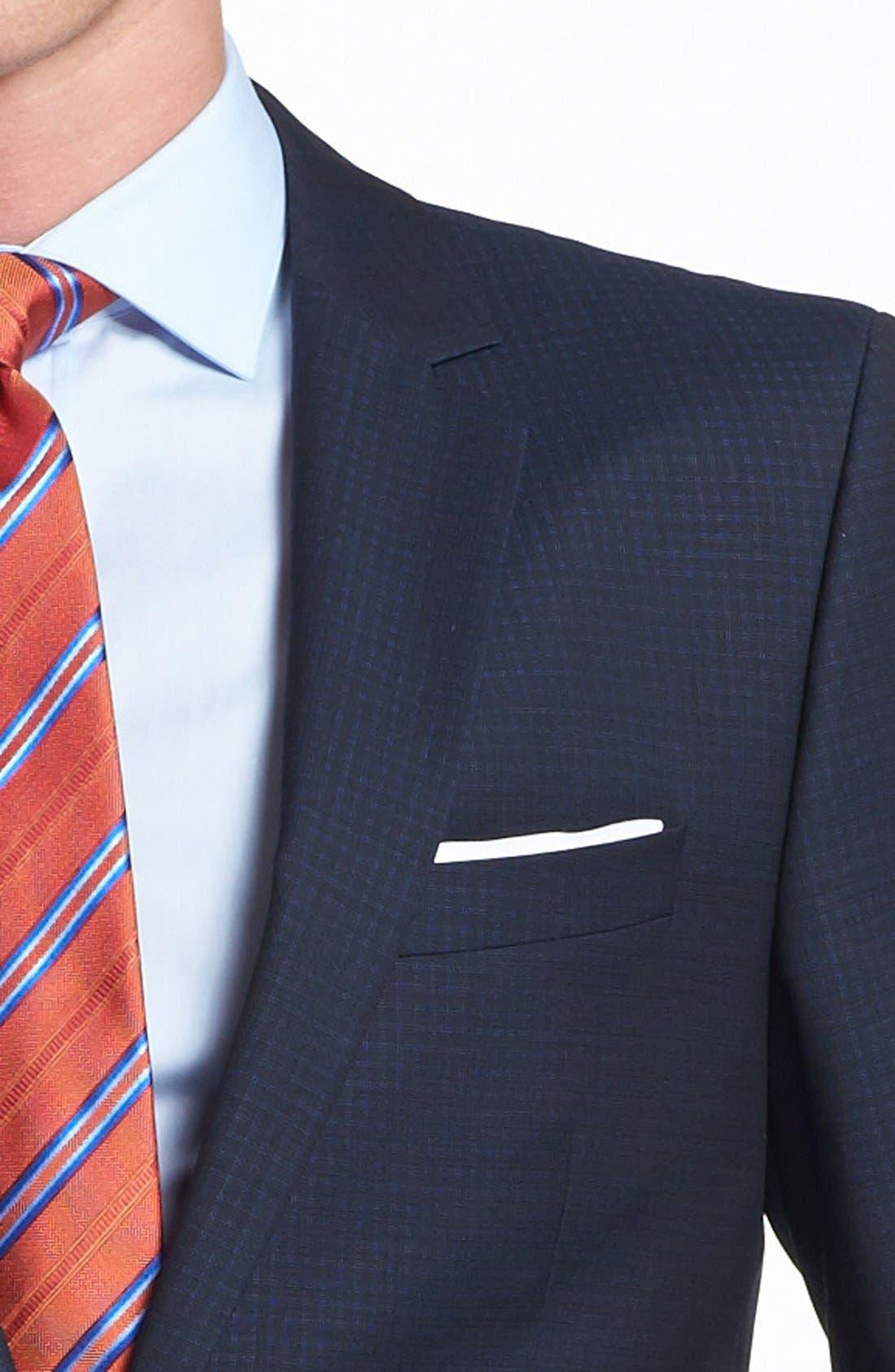 Alternate Image 2  - HUGO 'Astro/Hill' Extra Trim Fit Check Suit