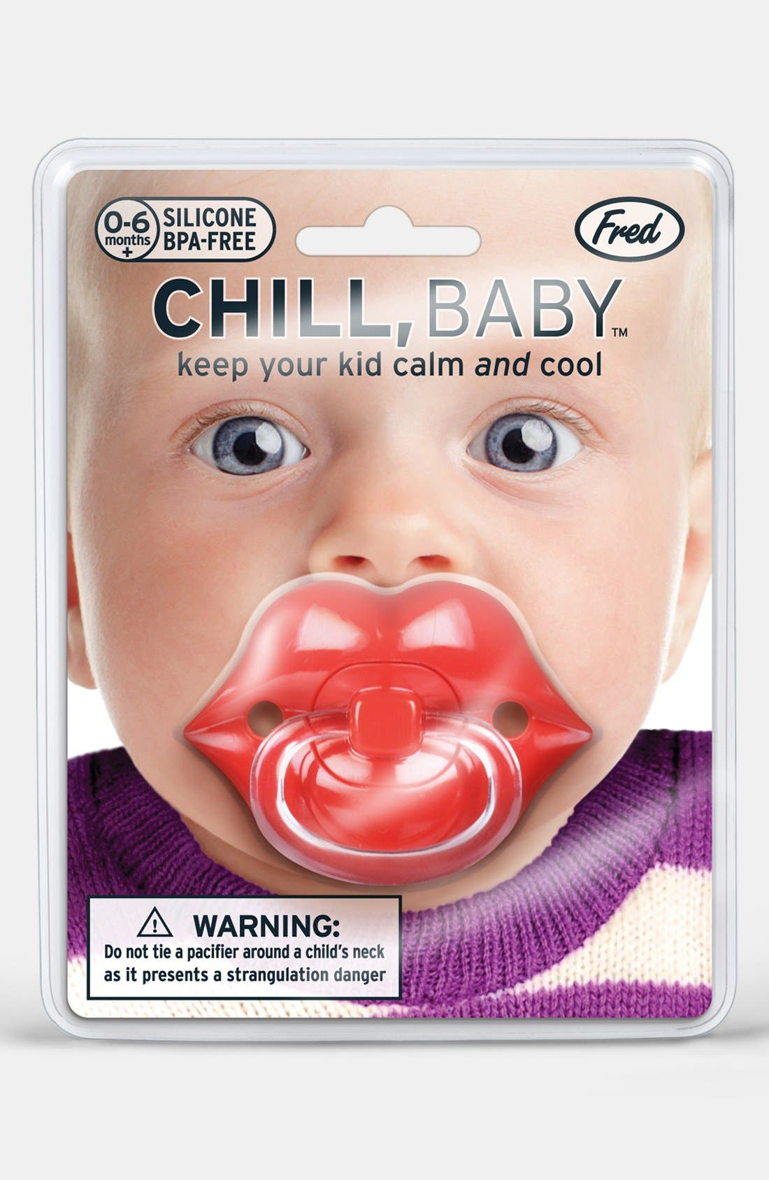 Alternate Image 3  - Fred & Friends 'Lips' Pacifier