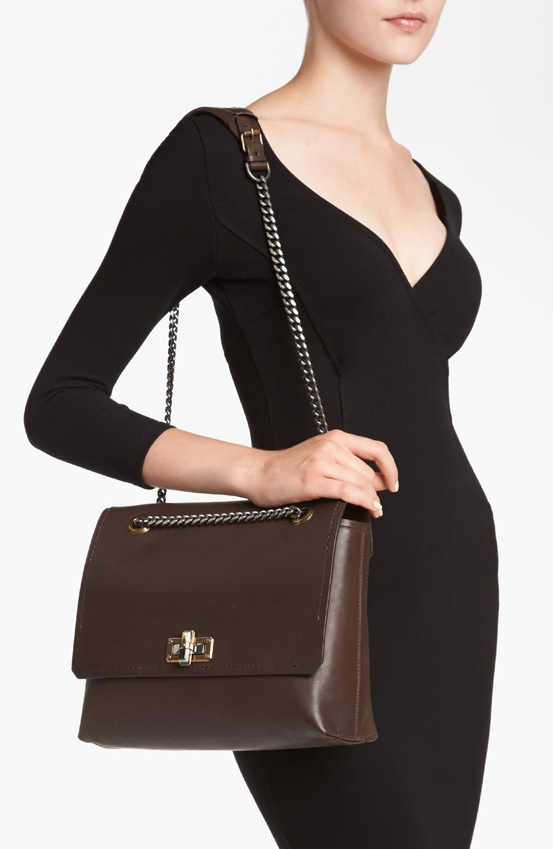 Alternate Image 2  - Lanvin 'Happy - Medium' Leather Flap Shoulder Bag