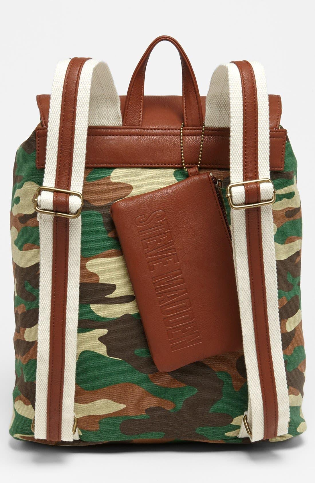 Alternate Image 4  - Steve Madden Canvas Backpack