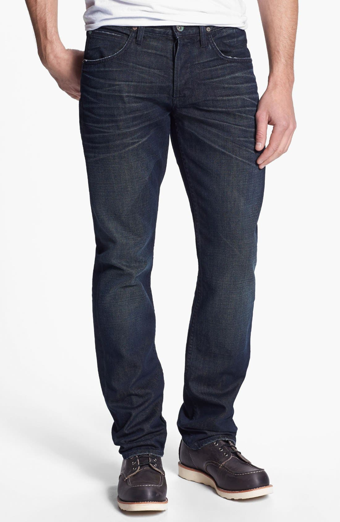 Alternate Image 2  - Hudson Jeans 'Byron' Straight Leg Jeans (Pyle)