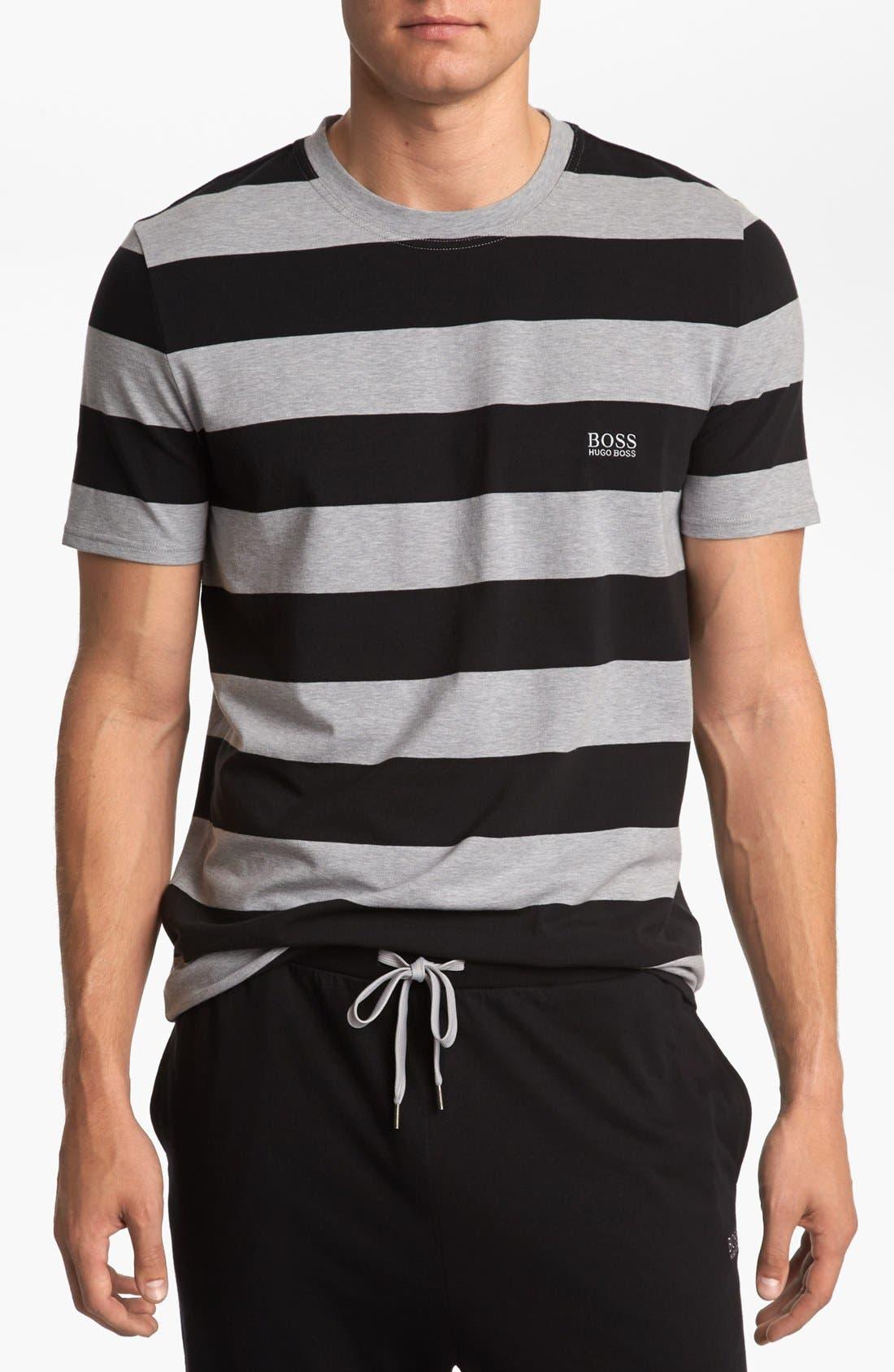 Alternate Image 1 Selected - BOSS HUGO BOSS Stripe T-Shirt