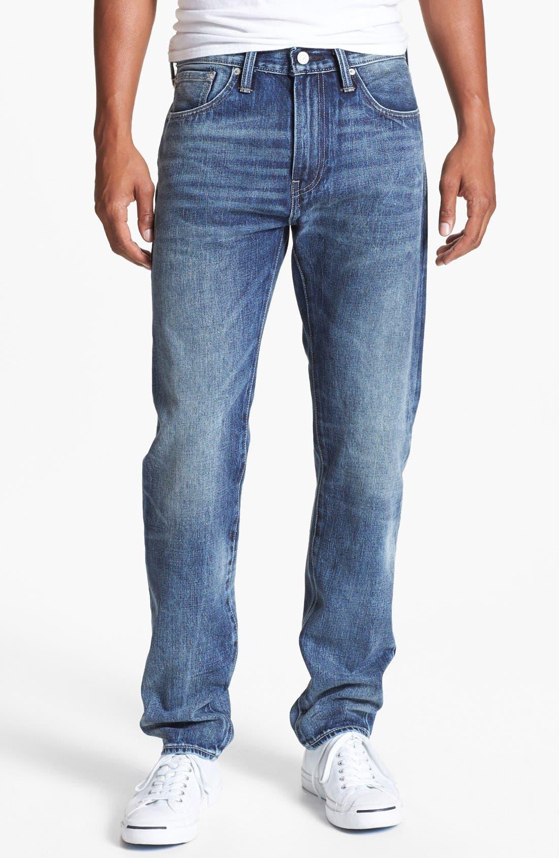 Alternate Image 2  - Levi's® '508™' Skinny Fit Jeans (Splattered)