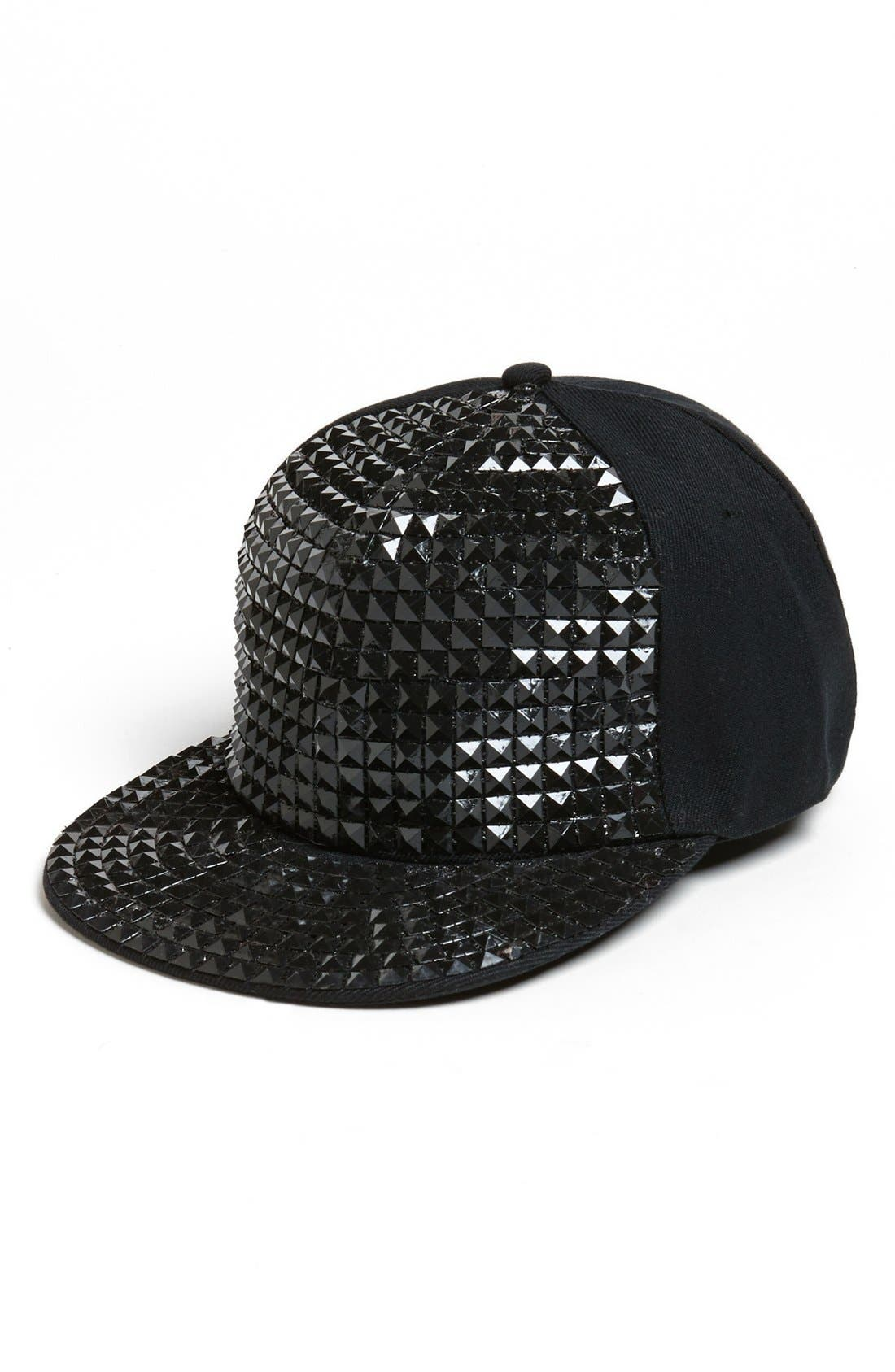 Main Image - David & Young Studded Baseball Cap