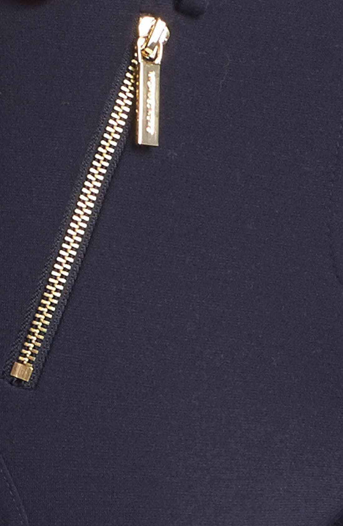 Alternate Image 4  - MICHAEL Michael Kors Zip Detail Seamed Ponte Pants