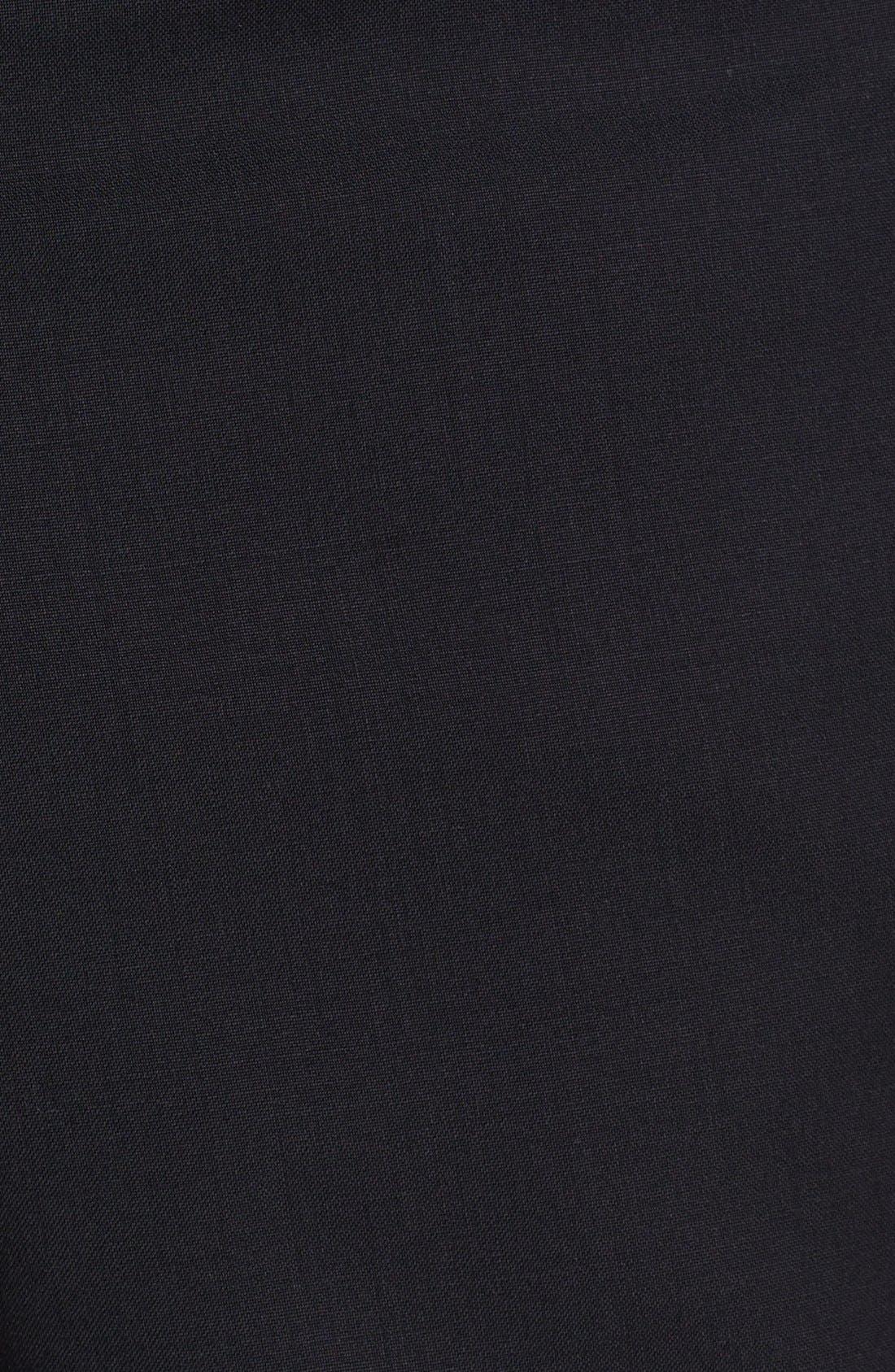 Alternate Image 2  - John Varvatos Star USA 'Astor' Flat Front Wool Trousers