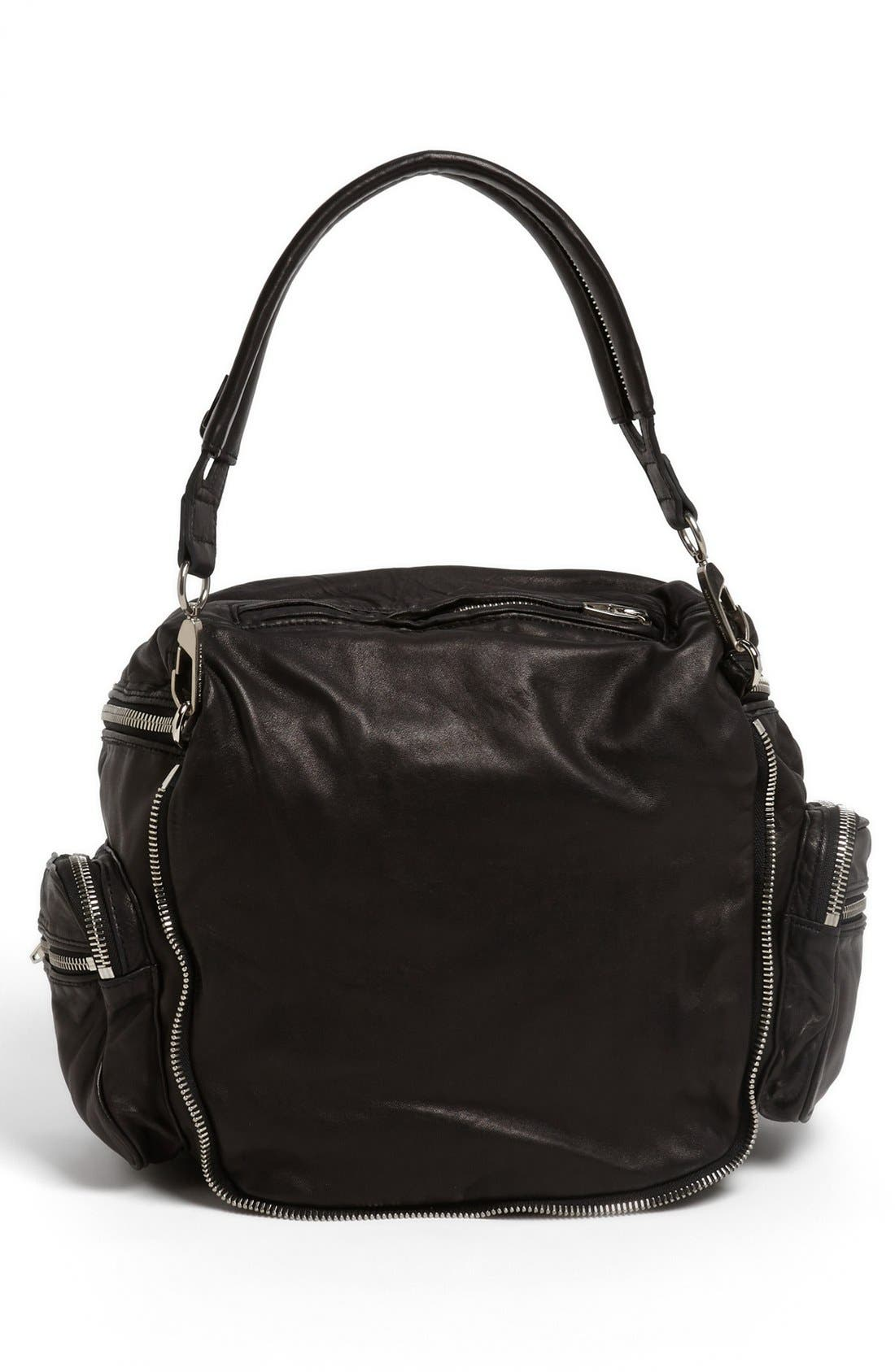 Alternate Image 4  - Alexander Wang 'Jane - Nickel' Leather Shoulder Bag