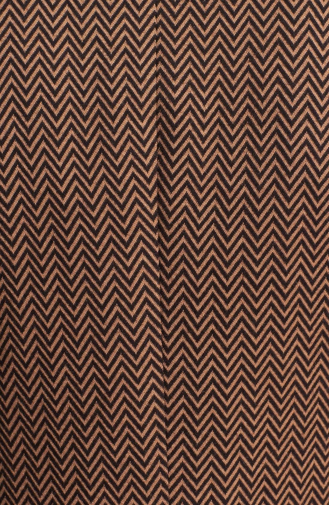 Alternate Image 4  - Anne Klein Herringbone Ponte Knit Blazer
