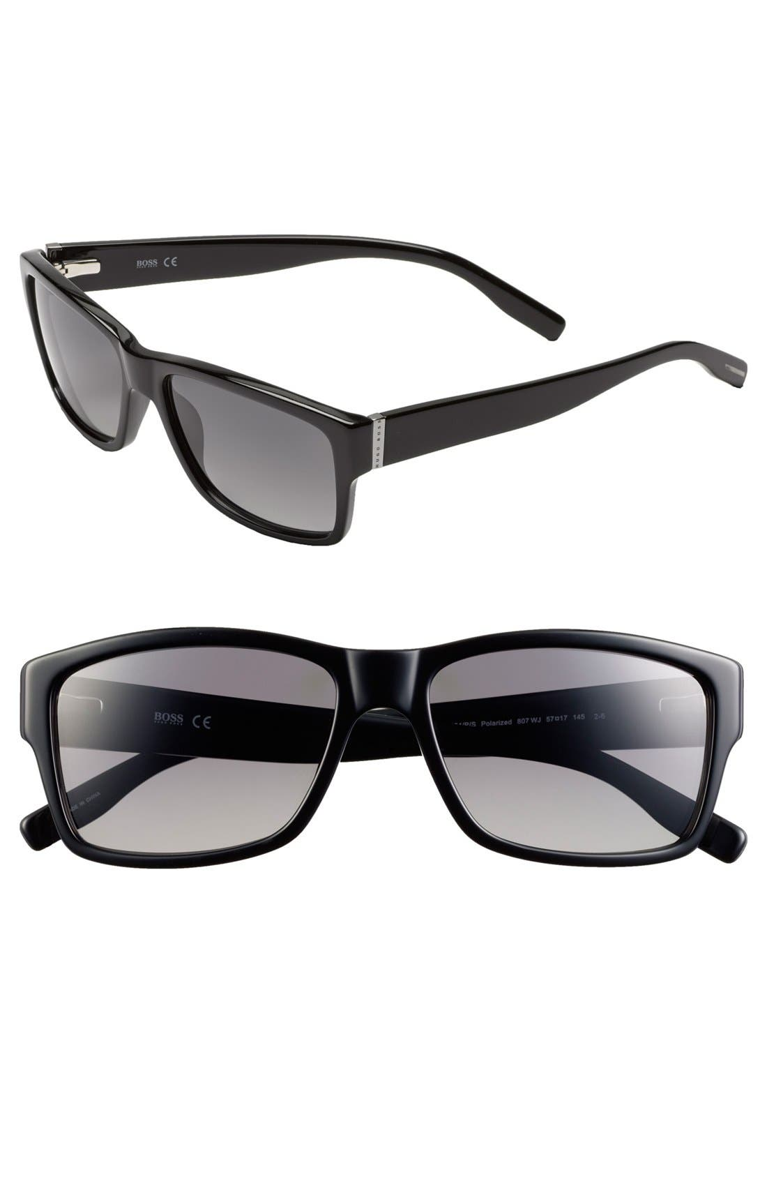 Alternate Image 1 Selected - BOSS HUGO BOSS 57mm Camo Sunglasses