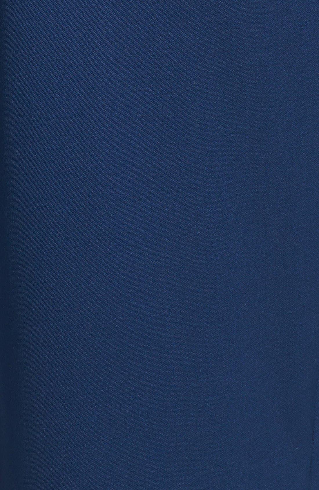 Alternate Image 5  - St. John Collection 'Diana' Straight Leg Venetian Wool Pants
