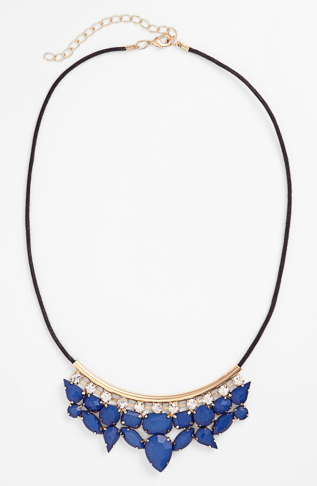 Alternate Image 1 Selected - Stephan & Co. 'Crest' Multi Stone Necklace (Juniors) (Online Only)