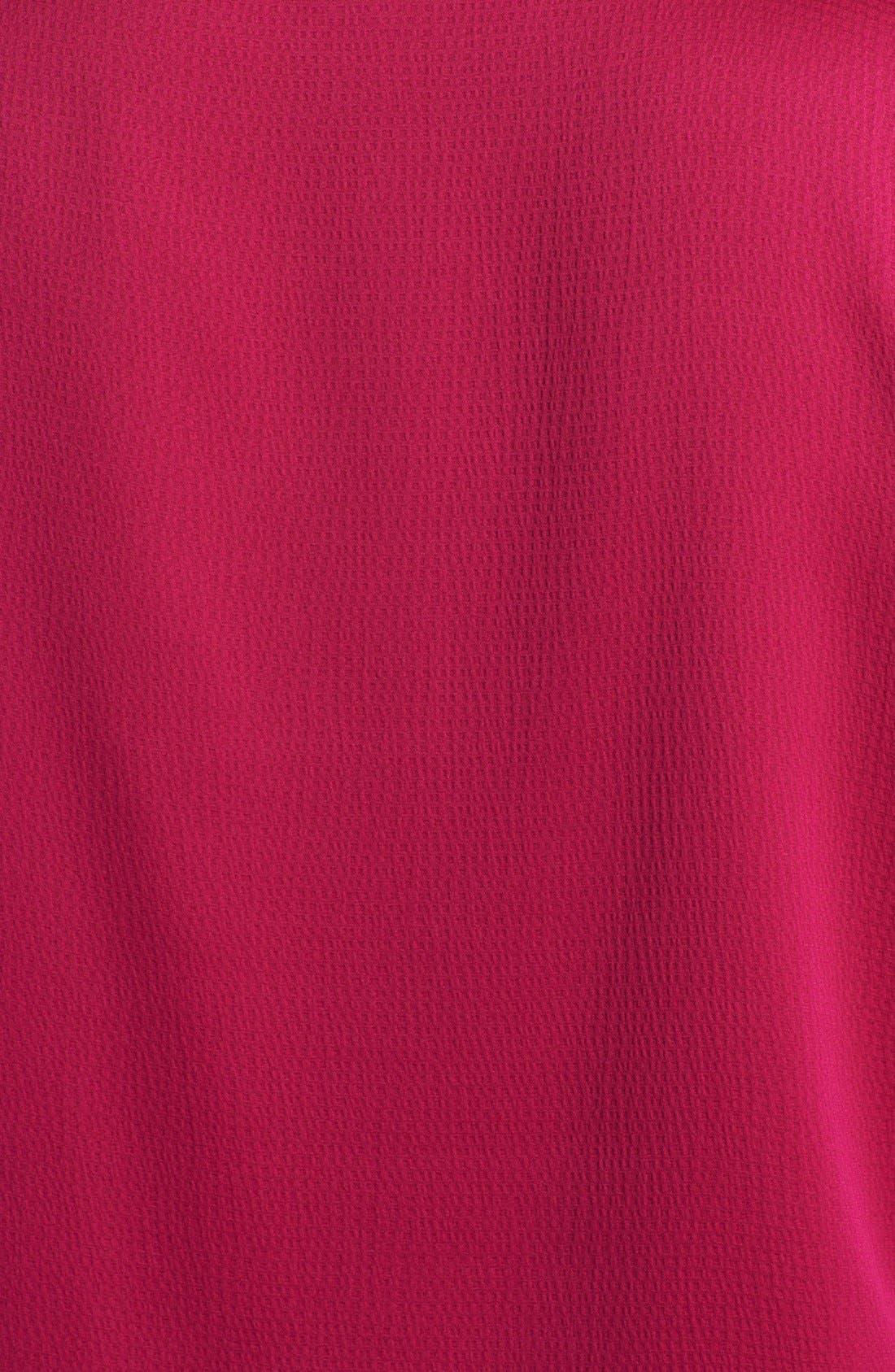 Alternate Image 3  - Anne Klein Textured Satin Blouse (Plus Size)