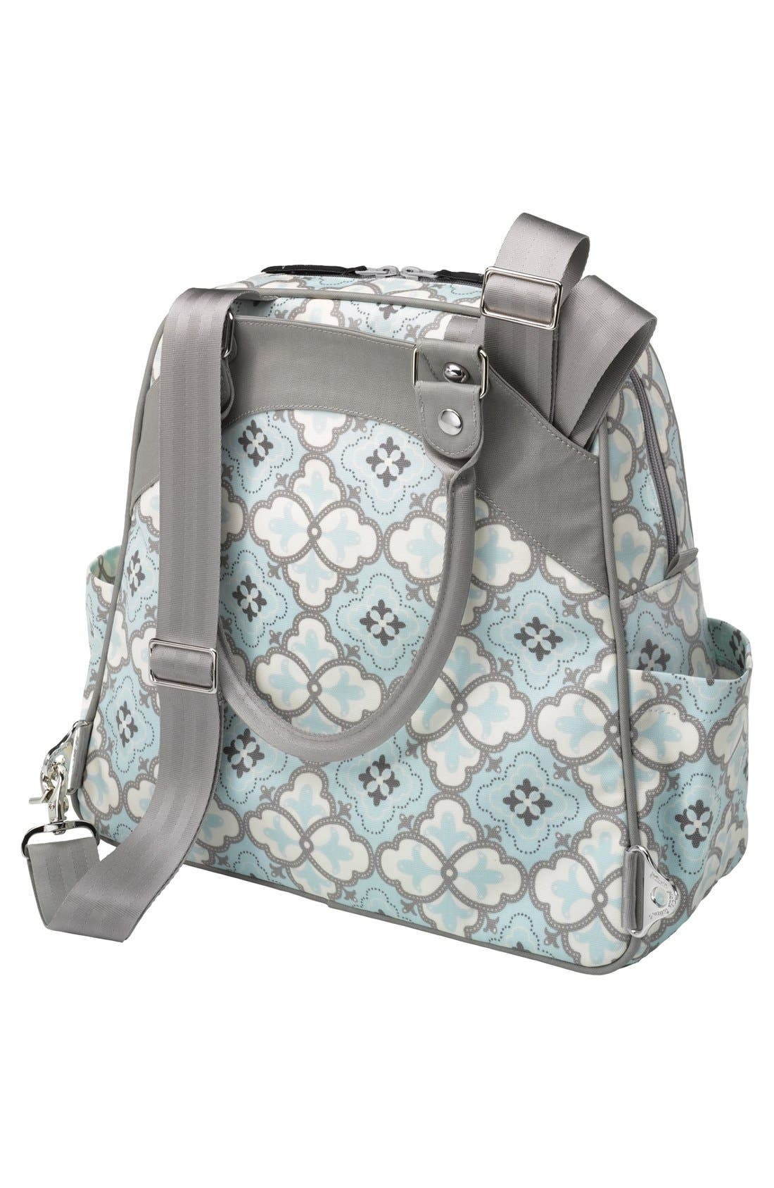 Alternate Image 4  - Petunia Pickle Bottom 'Sashay Satchel' Glazed Diaper Bag