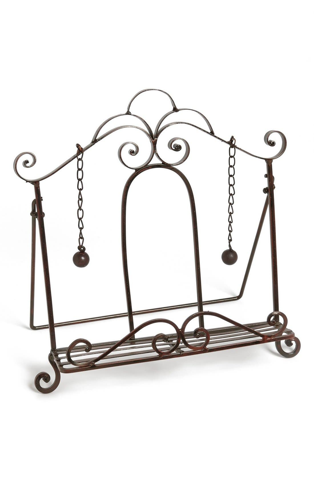 Alternate Image 1 Selected - Iron Book Stand