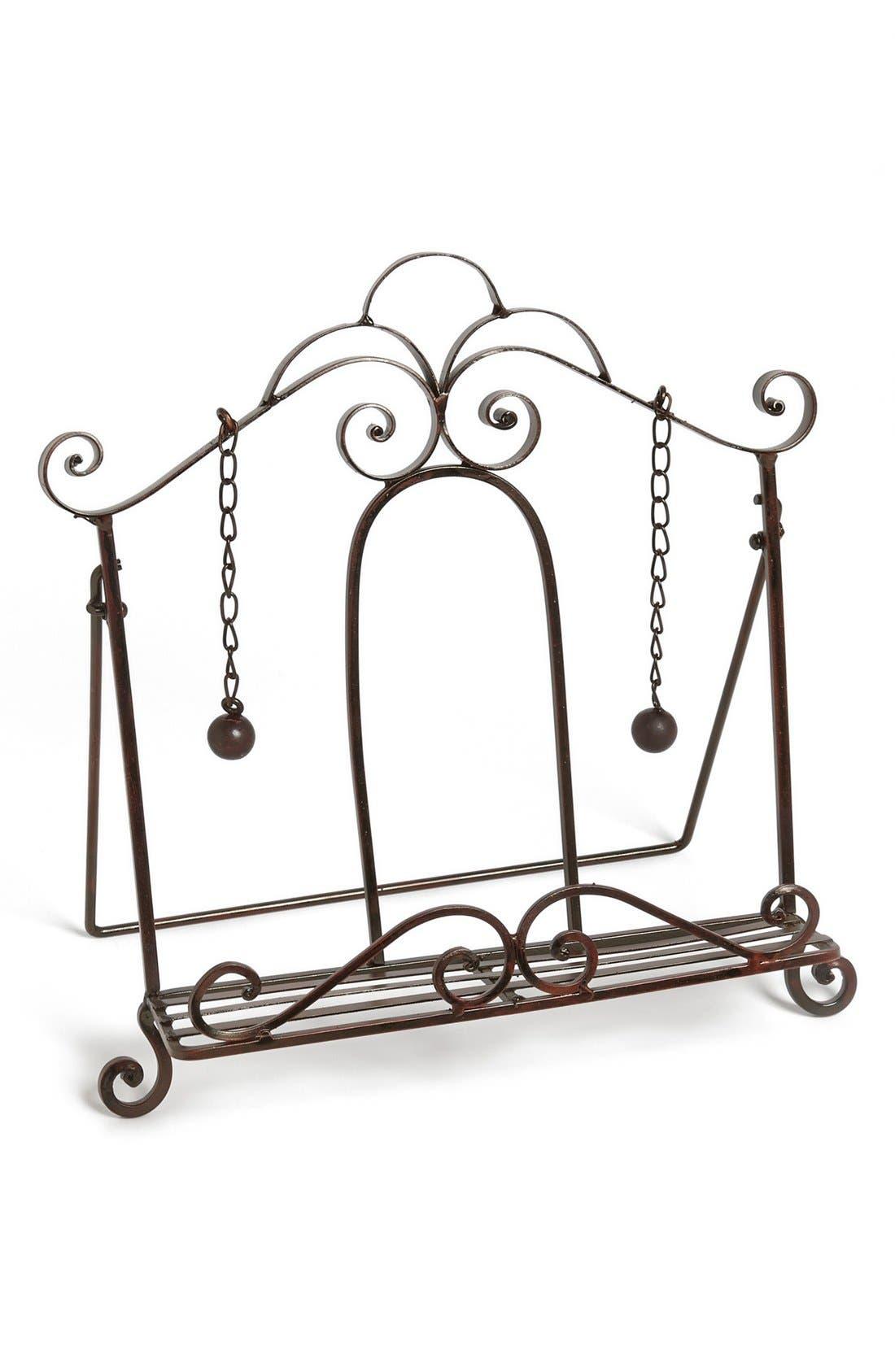 Main Image - Iron Book Stand