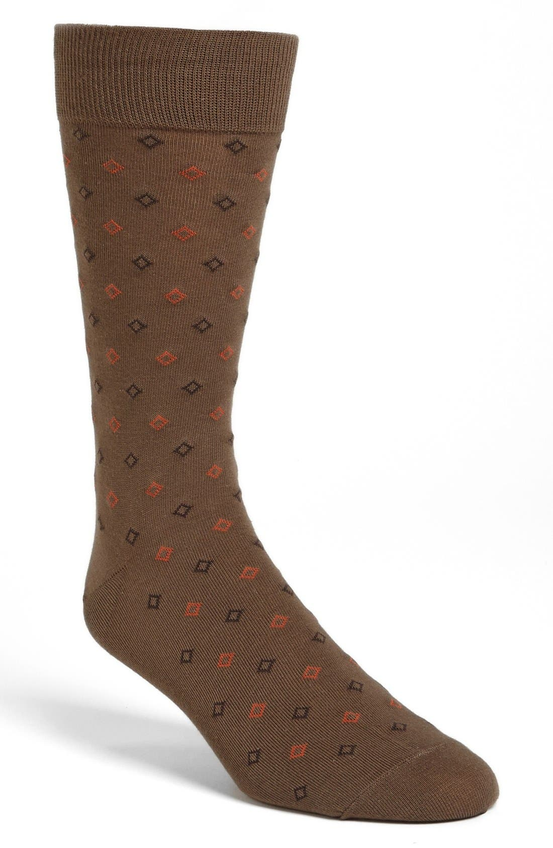 Alternate Image 1 Selected - Cole Haan Diamond Socks