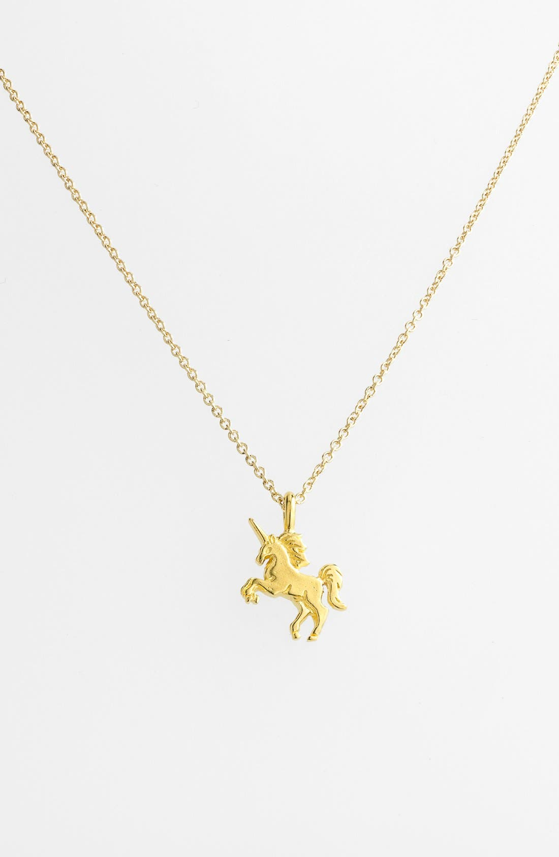 Alternate Image 3  - Dogeared 'Reminder - Life is Magical' Boxed Unicorn Pendant Necklace