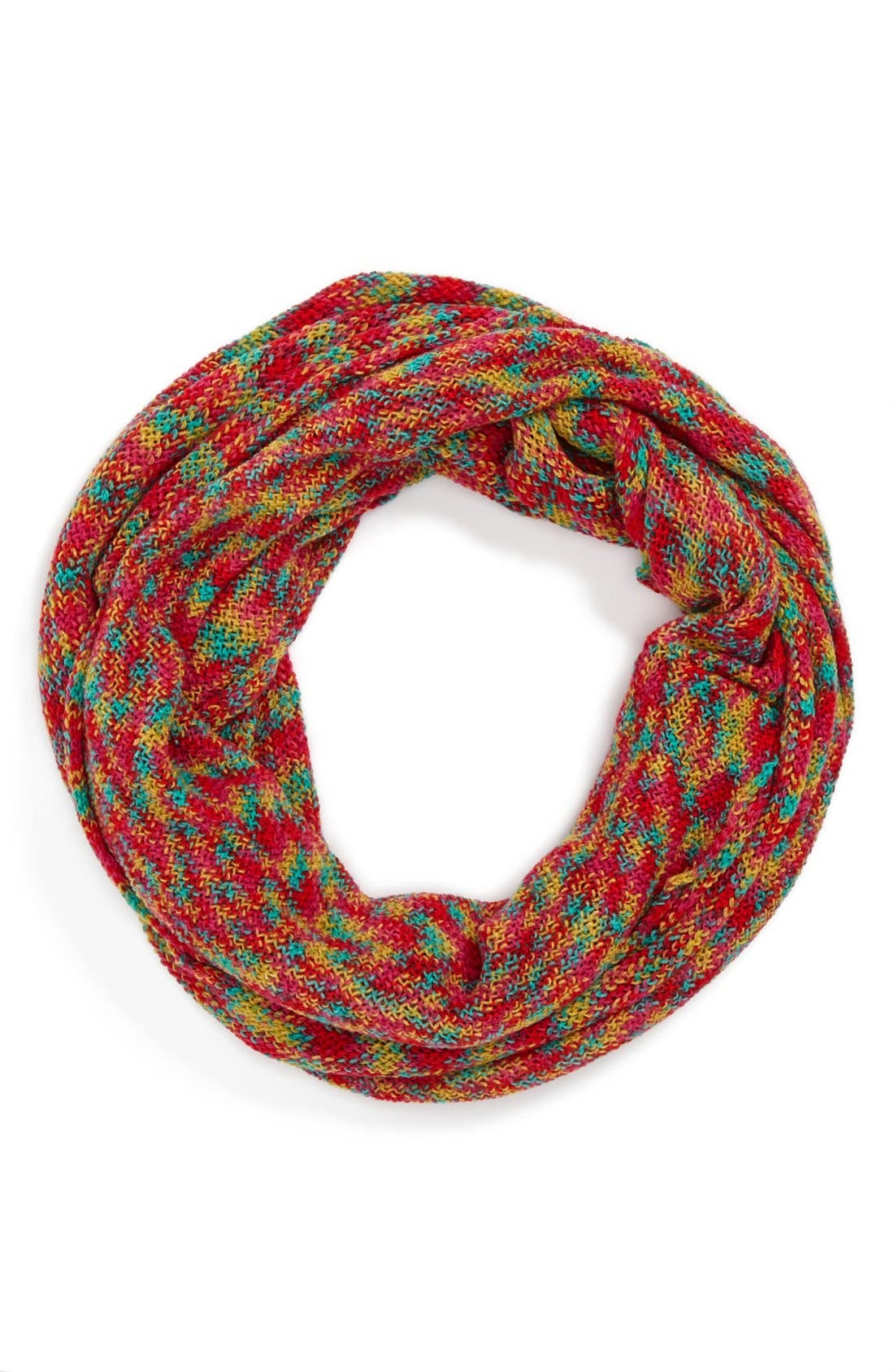 Main Image - Capelli of New York Space Dye Infinity Scarf (Juniors) (Online Only)