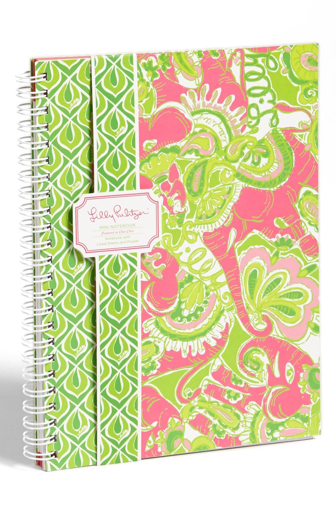 Main Image - Lilly Pulitzer® 'Chin Chin' Mini Notebook