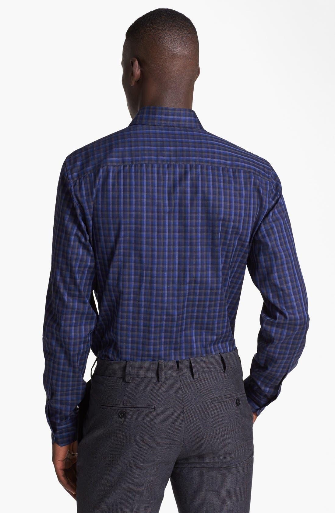 Alternate Image 2  - Z Zegna Check Sport Shirt