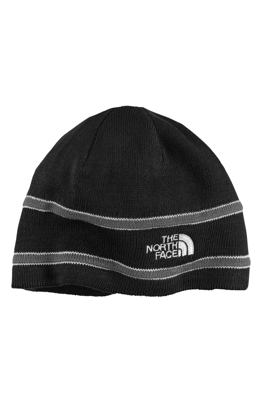 Main Image - The North Face Logo Beanie (Boys)