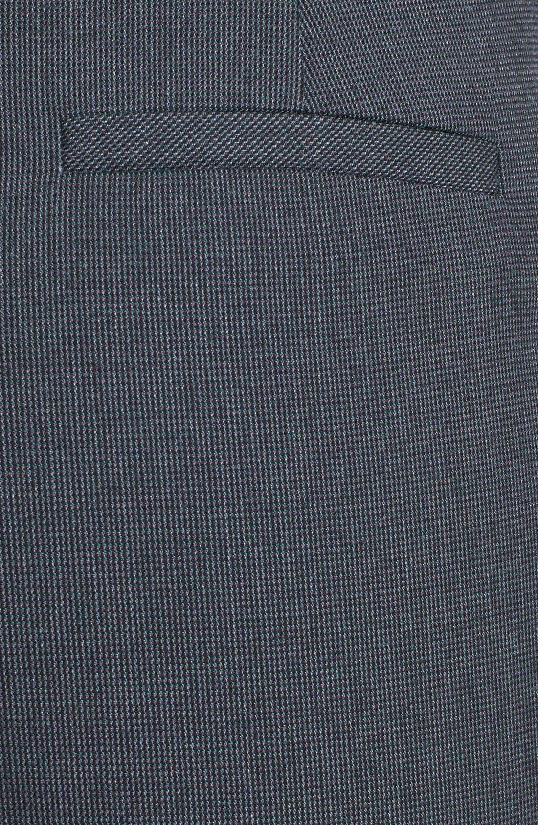 Alternate Image 3  - Halogen® 'Taylor - Fox Hunt' Curvy Fit Pants (Regular & Petite)