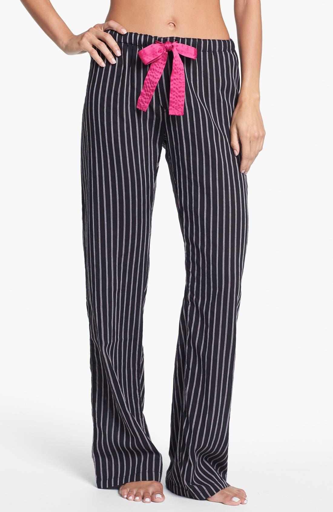 Alternate Image 1 Selected - PJ Salvage 'Pop of Pink' Lounge Pants