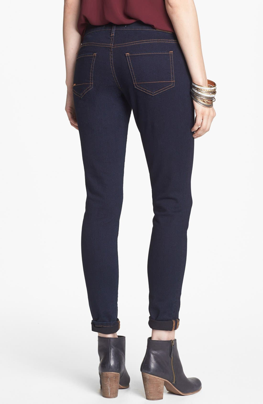 Alternate Image 2  - r jeans from rubbish Skinny Jeans (Juniors)