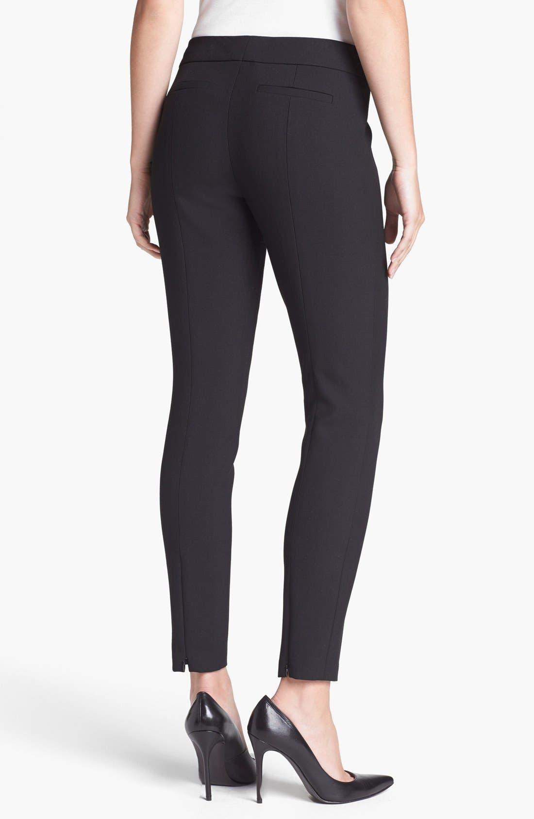 Alternate Image 2  - Classiques Entier® 'City Weave' Skinny Ankle Pants