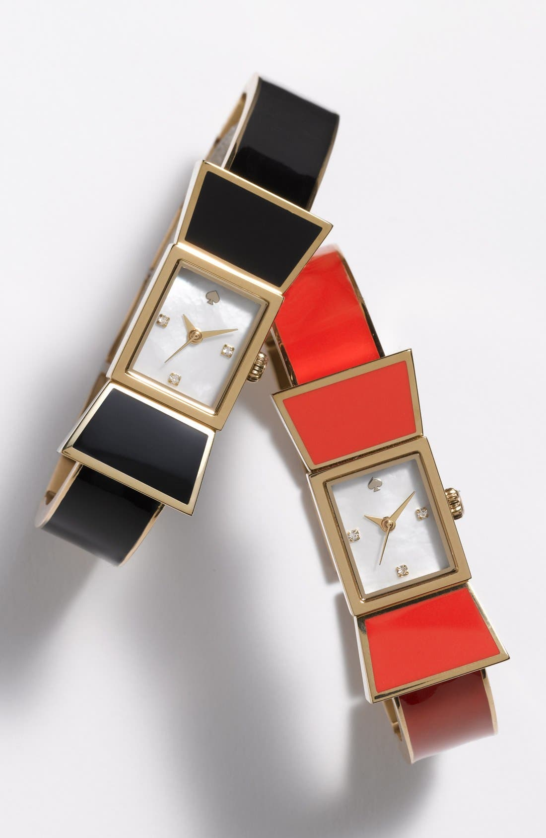 Alternate Image 2  - kate spade new york 'carlyle' bow bangle watch, 15mm