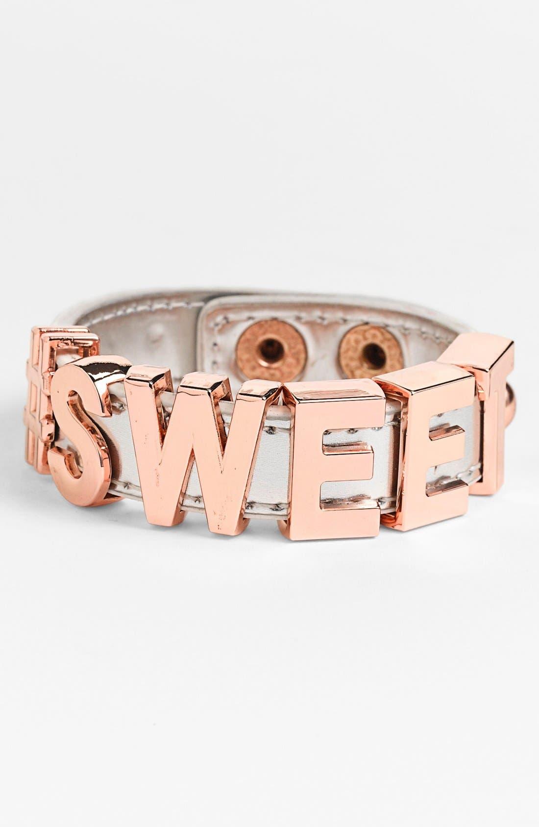 Alternate Image 1 Selected - BCBGeneration 'Hashtag Sweet' Bracelet