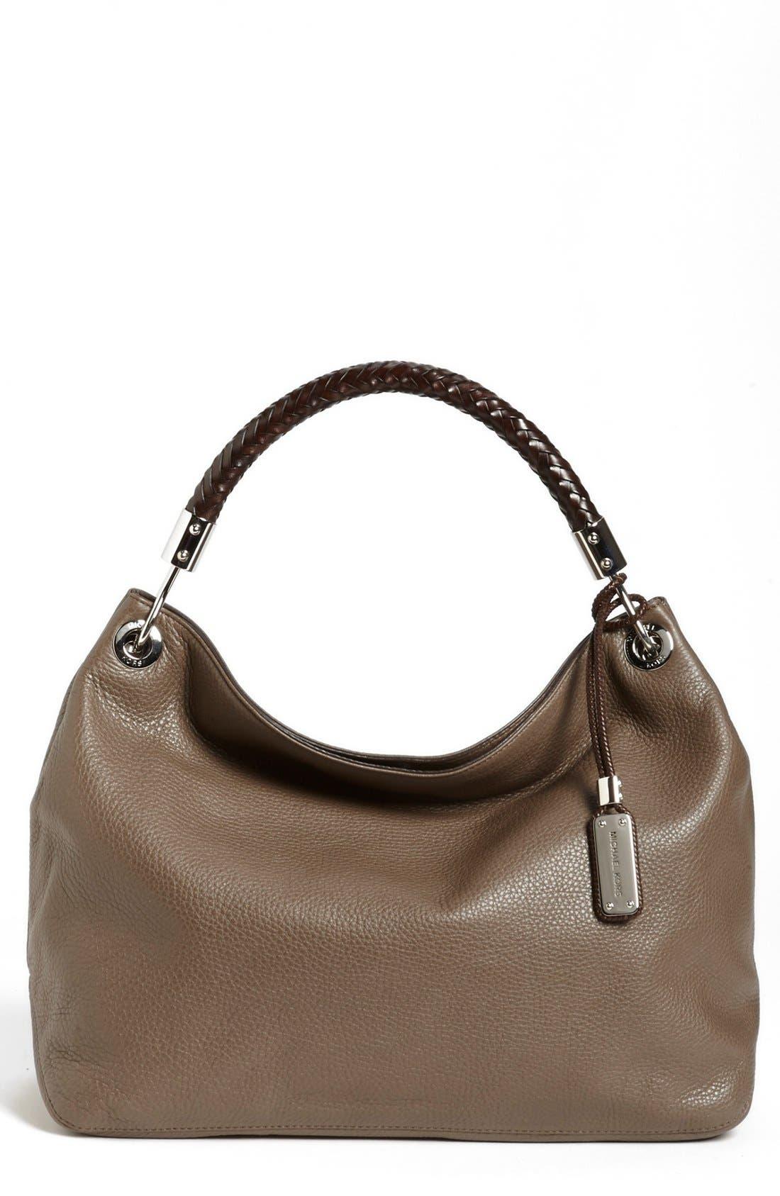 Alternate Image 1 Selected - Michael Kors 'Large Skorpios' Leather Shoulder Bag