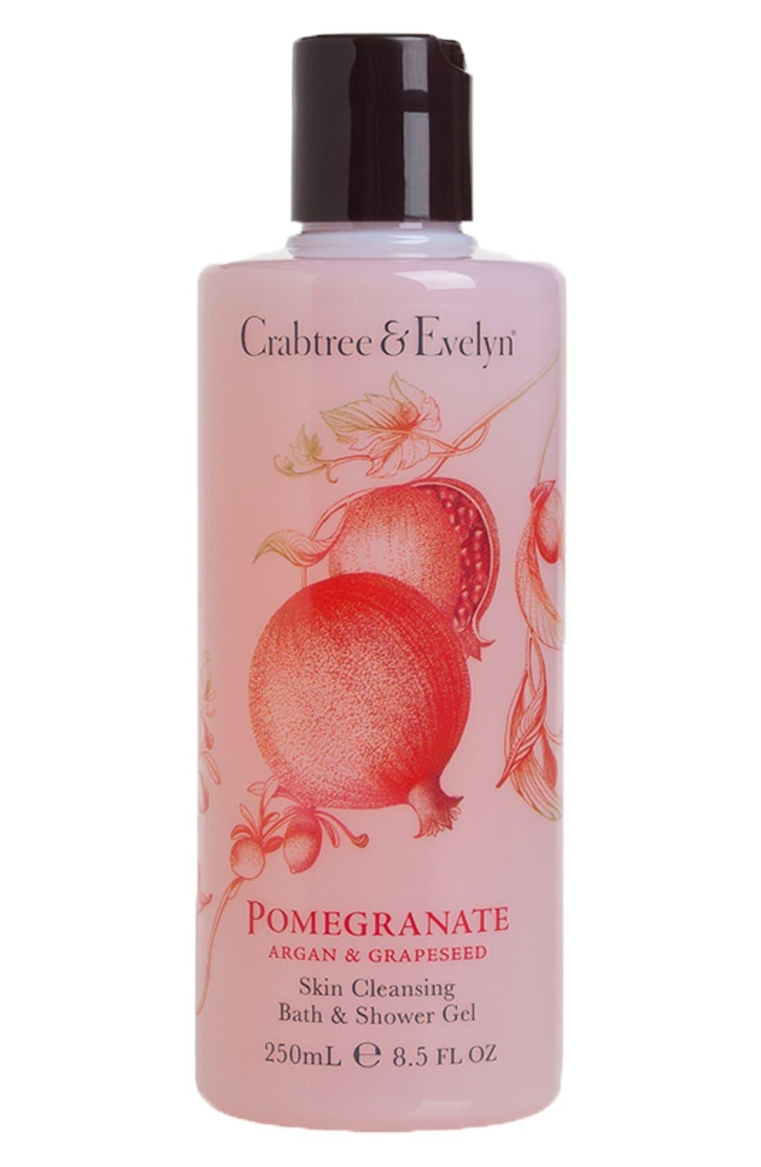 Crabtree & Evelyn 'Pomegranate, Argan & Grapeseed' Skin Cleansing Bath & Shower Gel