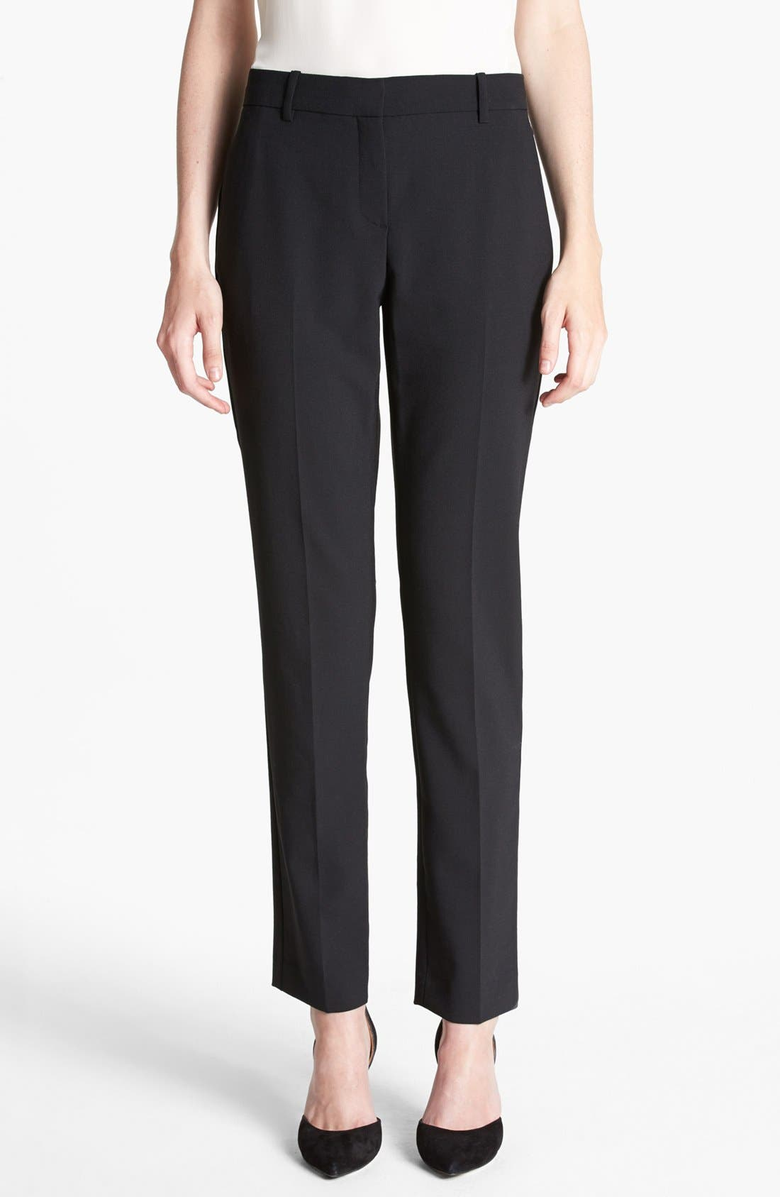 Alternate Image 1 Selected - Theory 'Louise' Ankle Stretch Pants