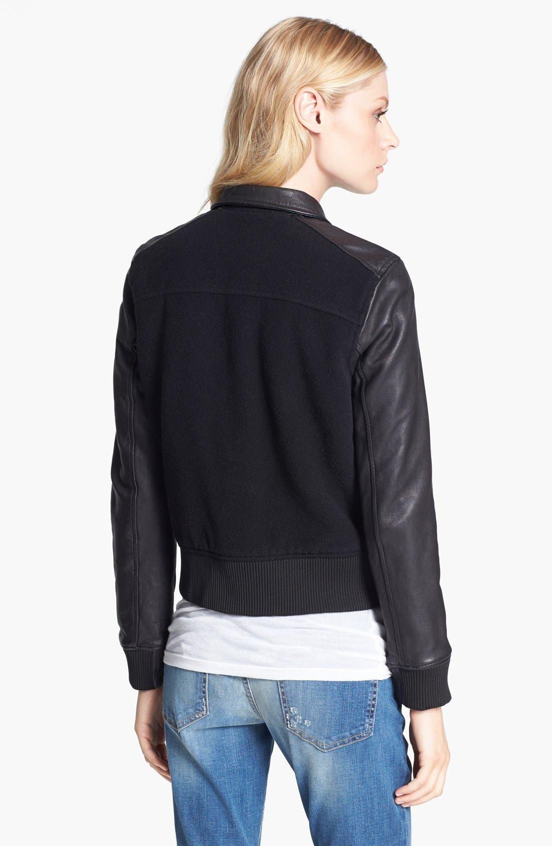Alternate Image 2  - Current/Elliott 'The Varsity' Jacket