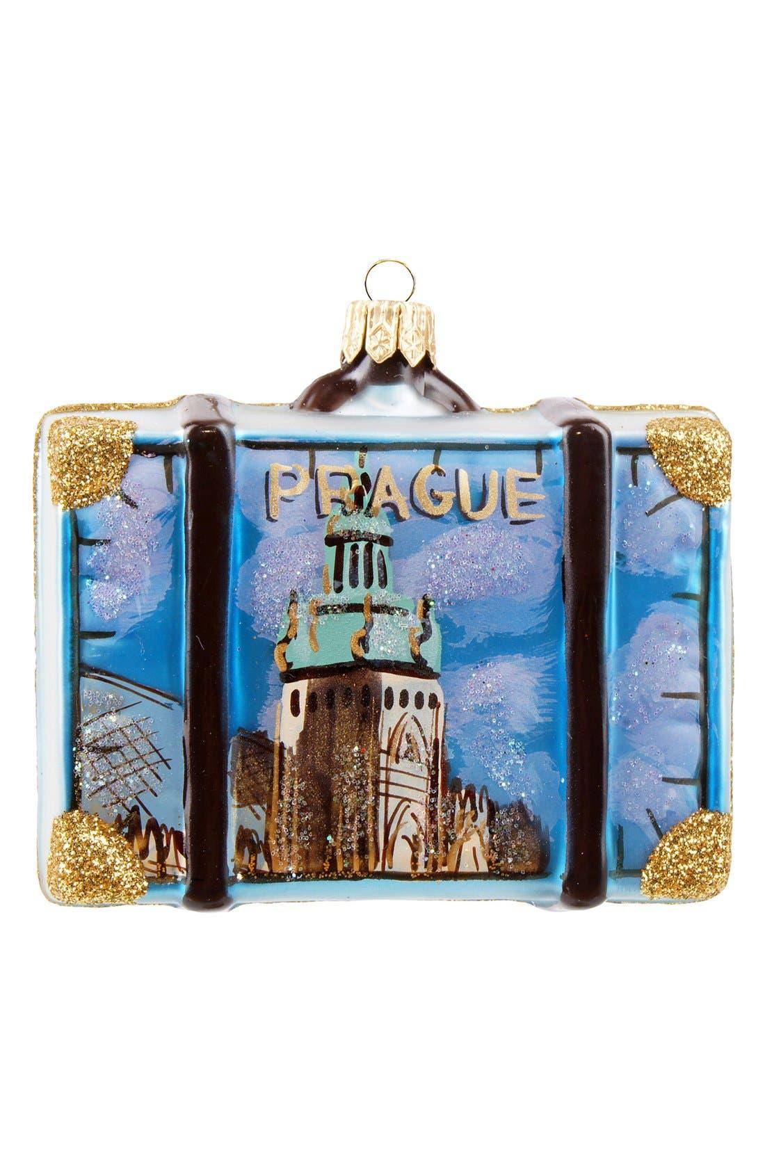 Alternate Image 2  - Nordstrom at Home 'Prague' Suitcase Ornament