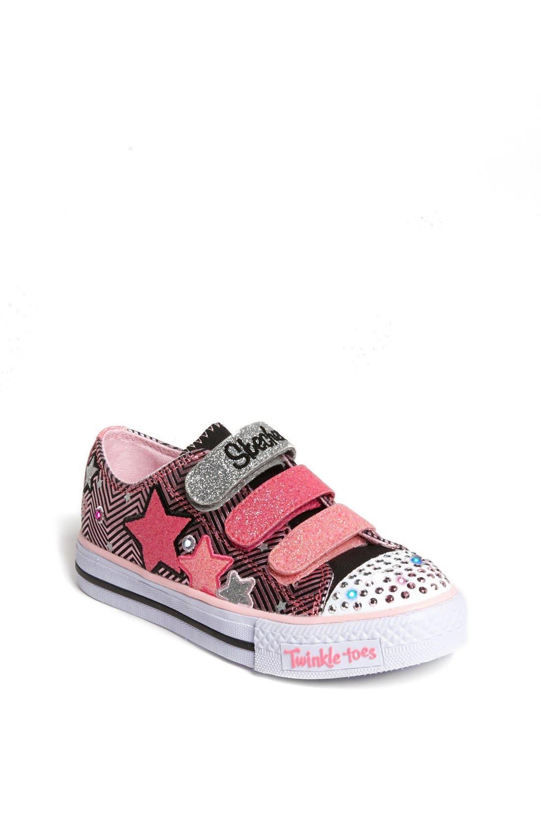 Alternate Image 1 Selected - SKECHERS 'Shuffles' Light-Up Sneaker (Toddler & Little Kid)