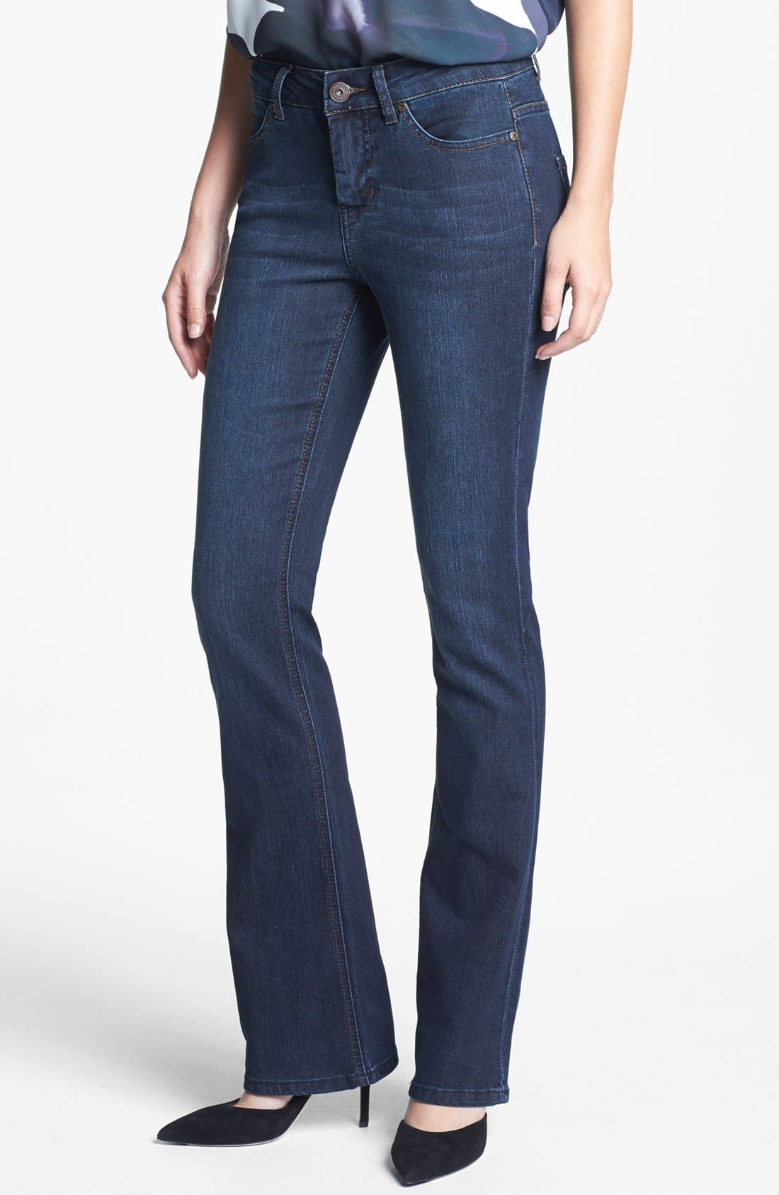 Alternate Image 1 Selected - Liverpool Jeans Company 'Lucy - Brit' Bootcut Stretch Jeans