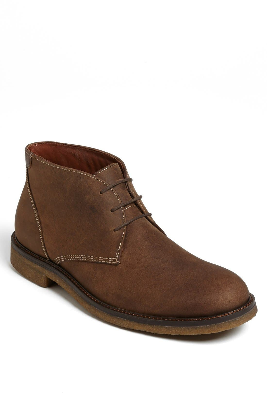 Johnston & Murphy 'Copeland' Suede Chukka Boot (Men)