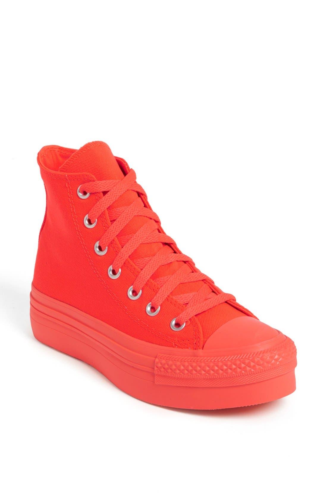 Main Image - Converse Chuck Taylor® All Star® Platform High Top Sneaker (Women)