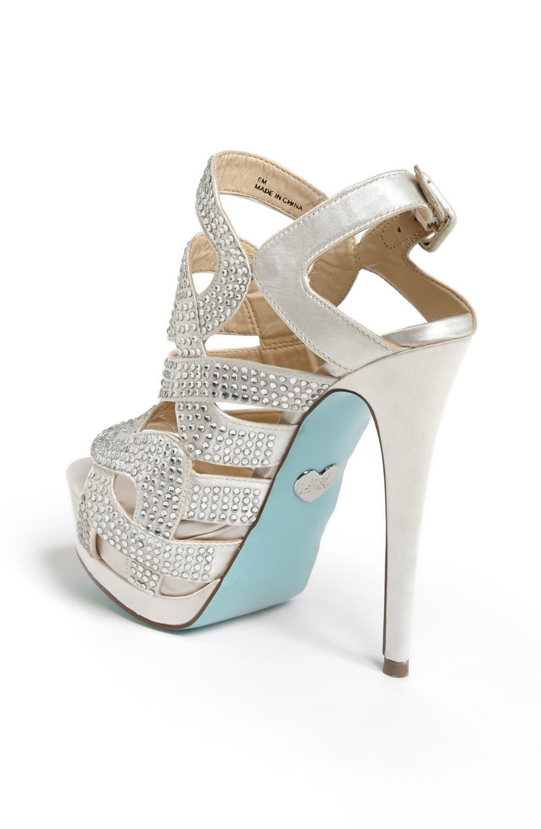 Alternate Image 2  - Blue by Betsey Johnson 'Love' Sandal