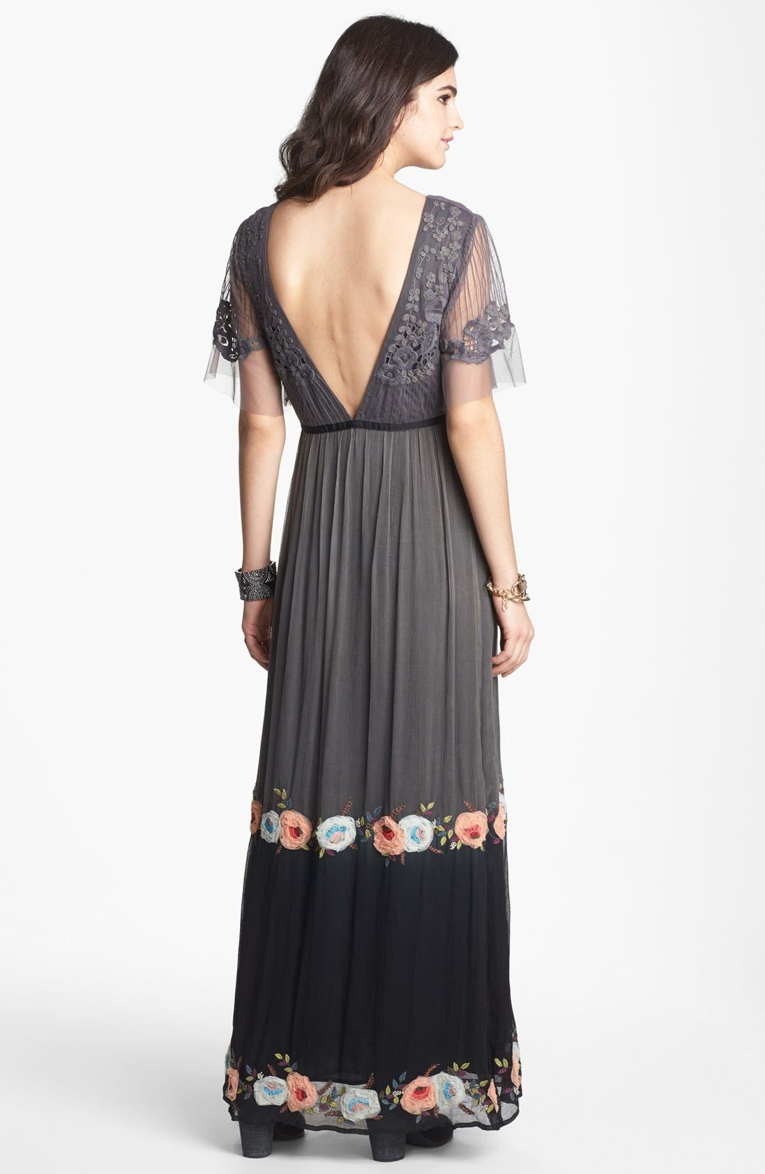 Alternate Image 2  - Free People 'Midnight in the Garden' Maxi Dress